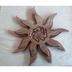 Sole in legno di noce - artigianale