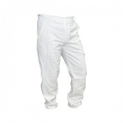 Pantalone da Apicoltore in cotone 100% bianco