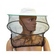 Maschera in tulle a cappello con tendivelo