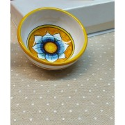 """Ciotolina ceramica Caltagirone """"Fiore"""""""