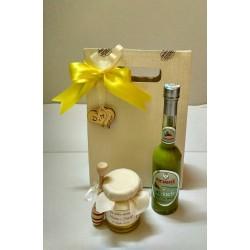 Shopper Set di Miele e Crema liquorosa