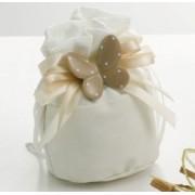 Sacchetto confetti con farfalla