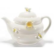 Teiera con ape- in ceramica