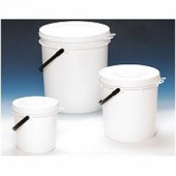 .N.10 Secchiello in plastica per alimenti capienza 25kg SPEDIZIONE GRATIS