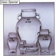 VASO vetro Anforetta per 120g di miele - Conf. da 24