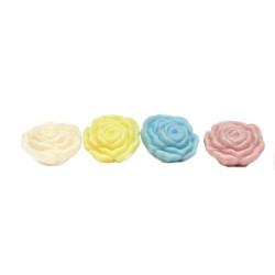 Fiori colorati di sapone al miele. 12pz