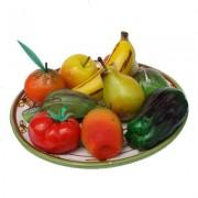 Frutta martorana di marzapane di sicilia - frutti misti -