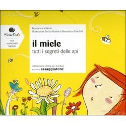 """Libro """"Il Miele- tutti i segreti delle api"""" con scheda assaggiatore"""