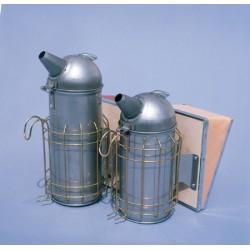 Affumicatore America in acciaio inox cm.10 con protezione(altezza 30cm)