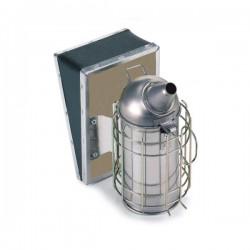 Affumicatore in acciaio inox cm.10 con protezione