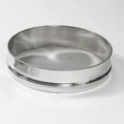 Filtro a tutto diametro in Acciaio inox per maturatore da kg.200