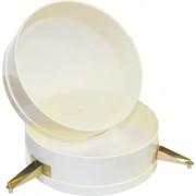 Filtro per miele in plastica in doppia rete 24cm