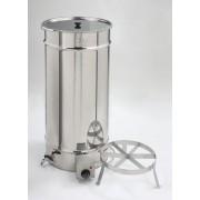 .Fondimiele elettrico in acciaio inox capacità 2 latte da kg.25 S...