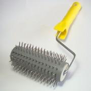 Rullo per disopercolare con denti in metallo
