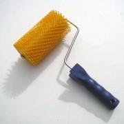 Rullo per disopercolare con denti in plastica