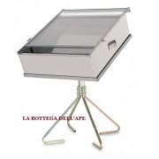 Sceratrice solare girevole - in acciaio inox coibentata