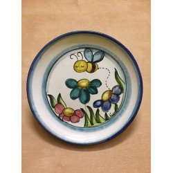 "Piatto tondo in ceramica ""Bee"""